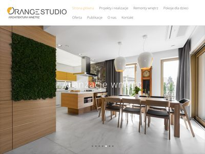 Architektura wnętrz Orange Studio