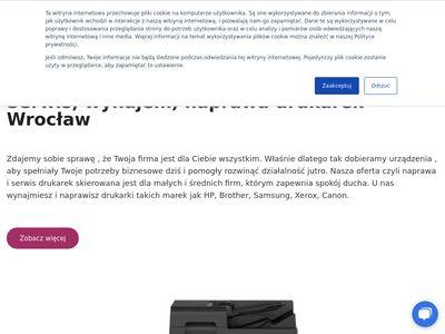 Otus - naprawa drukarek Wrocław