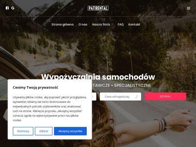 Wypożyczalnia aut osobowych Patirental - Tczew