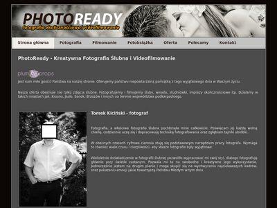 PhotoReady - fotografia ślubna Krosno
