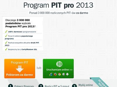 Rozliczenie podatkowe PIT 2012