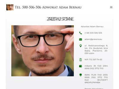 Adwokaci lublin A. Bernau, T. Mikołajczuk - Rzetelne porady, Zastępstwo, pisma