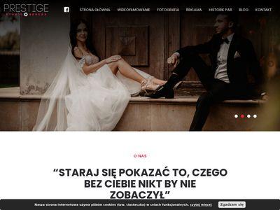 Fotografia ślubna Kalisz, Prestige Studio Bereza, wideofilmowanie