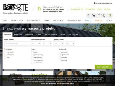 Projekty budynków gospodarczych - ProArte