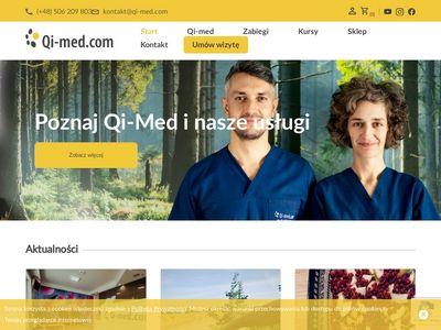 QI-MED.COM MAŁGORZATA MOLENDA rehabilitacja medyczna katowice