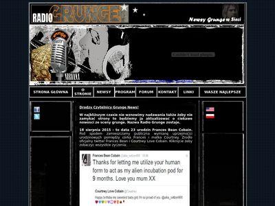 Newsy | Komentarze | Grunge