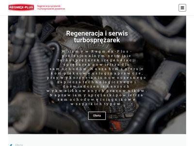 REGMEX-PLUS naprawę sprężarek knorr mielec