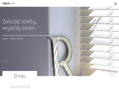 Www.regra.com.pl - zasłony