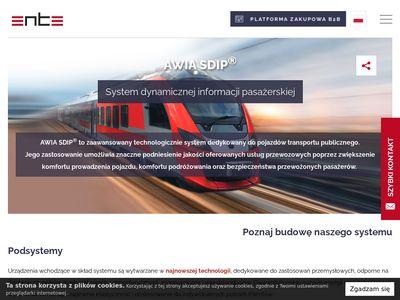 AWIA SDIP - System Dynamicznej Informacji Pasażerskiej