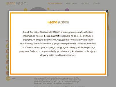 SendSystem sposób na adresowanie przesyłek, listów