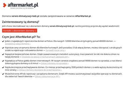 Naprawa i konserwacja klimatyzacji w Łodzi