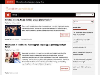 Informacje o ślubie i weselu w Katowicach i Rybniku