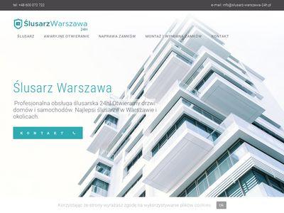 ślusarz Warszawa