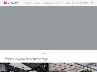 Sprzedaż oświetlenia - Spectra