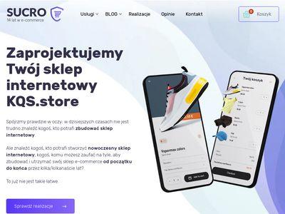 Tworzenie sklepów KQS- firma Sucro