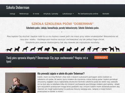 Szkoła Szkolenia Psów Doberman