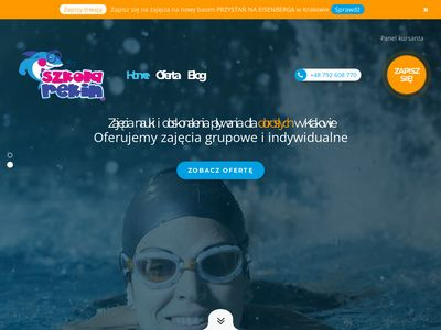 Kurs pływania Kraków - SzkołaRekin