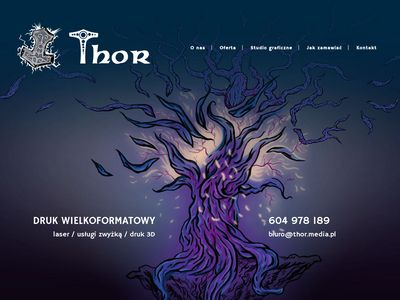 Thor Drukarnia Wielkoformatowa | Agencja Reklamy | Reklama