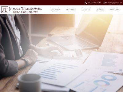 JOANNA TOMASZEWSKA biuro księgowe wrocław