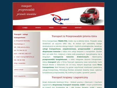 Transpol - przeprowadzki, transport