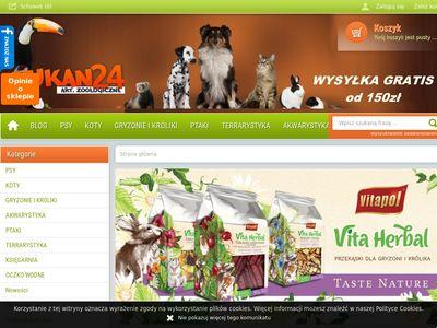 Tukan24 - Artykuły zoologiczne.