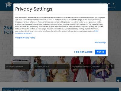 Uczelnie Ekonomia Kraków
