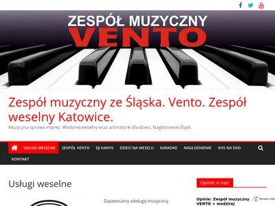 Zespół muzyczny ze Śląska.Zespół weselny Katowice i Tychy.