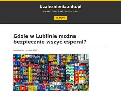 Baza wiedzy onałogu alkoholowym. Leczenie alkoholizmu w Łodzi