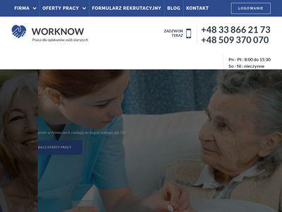Praca w Niemczech dla opiekunek - WORKNOW