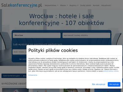 Sale konferencyjne Wrocław