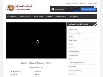 Wybór uczelni - blog