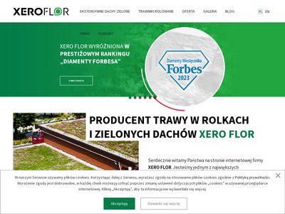 XERO FLOR zielony dach