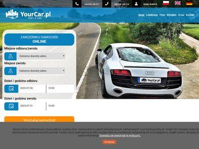 Wypożyczalnia samochodów Katowice - Yourcar