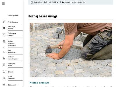 Oferujemy projektowanie ogrodów, obszar działania Warszawa, Piaseczno, Legionowo, Wołomin