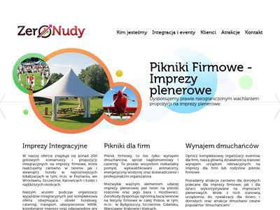 ZeroNudy.com -pikniki firmowe Poznań i Wrocław - imprezy integracyjne