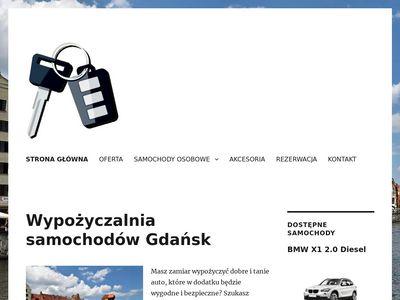 Wypożyczalnia aut Gdańsk lotnisko