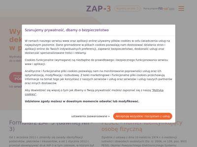 ZAP-3 druk