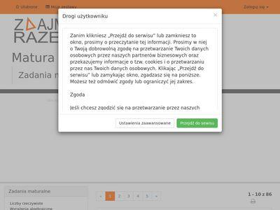 ZdajmyRazem.pl - Matura z Matematyki