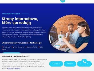 Strony internetowe Łódź - projektowanie stron WWW