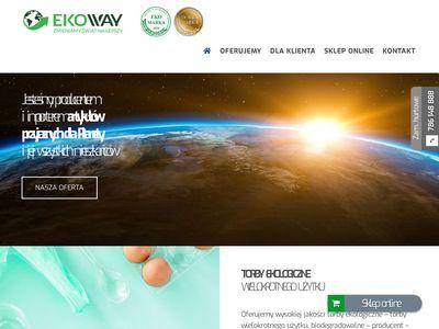 Bionaczynia biodegradowalne - Ekoprom