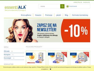 Sklep omega 3 - Essentiala3.pl