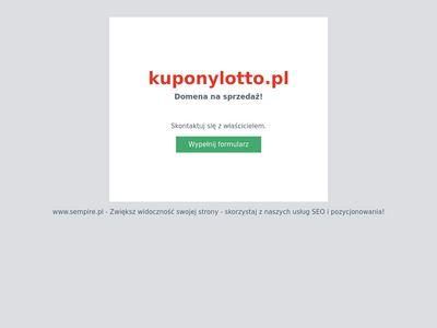 Lotto przez internet   kuponylotto.pl