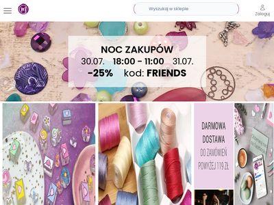 Półfabrykaty do wyrobu biżuterii i koraliki do bransoletek - Manzuko