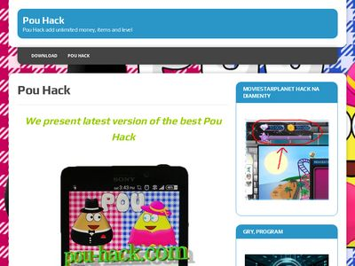 Pou Hack add unlimited money, items and level