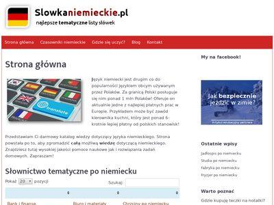 Slowka niemieckie