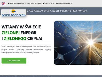 Oprawy uliczne LED Solar Technics