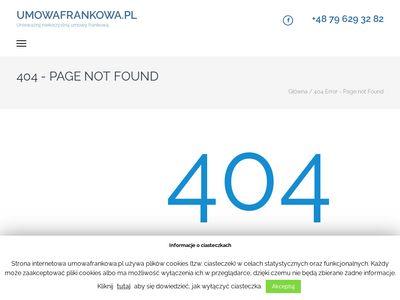 UmowaFrankowa.pl - odfrankuj kredyt frankowy