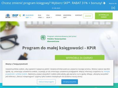 Księga przychodów i rozchodów - kpir program SKP