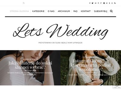 Lets Wedding blog ślubny