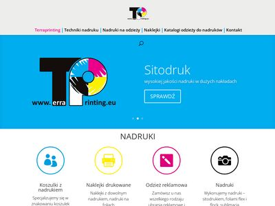 Odzież reklamowa - Terraprinting.eu